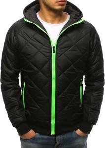 Czarna kurtka Dstreet z bawełny w stylu casual