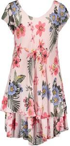Sukienka Fashion Factory z krótkim rękawem mini w stylu casual