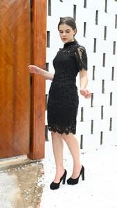 Czarna sukienka Justmelove