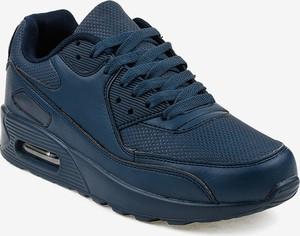 Granatowe buty sportowe Gemre.com.pl sznurowane