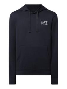 Granatowa bluza Emporio Armani w młodzieżowym stylu z bawełny