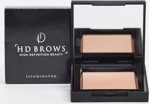 HD Brows – Rozświetlacz w pudrze-Srebrny