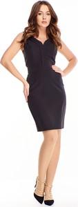 Sukienka Ptakmoda.com bez rękawów ołówkowa mini