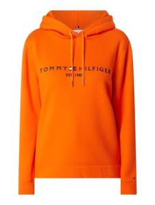 Pomarańczowa bluza Tommy Hilfiger krótka