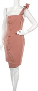 Różowa sukienka Michelle Keegan