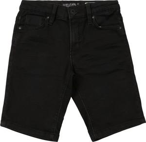 Czarne spodenki dziecięce Cars Jeans