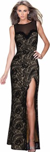 Sukienka Yaze z dekoltem na plecach maxi