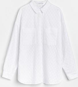 Koszula Reserved z kołnierzykiem