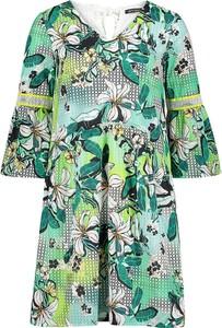 Sukienka Betty Barclay mini z dekoltem w kształcie litery v oversize