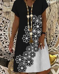 Sukienka Kendallme w stylu casual mini z krótkim rękawem