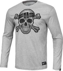 Koszulka z długim rękawem Pit Bull z nadrukiem w młodzieżowym stylu z długim rękawem