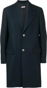 Niebieski płaszcz męski Marni