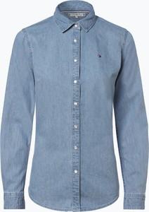 Koszula Tommy Hilfiger z długim rękawem z jeansu w street stylu