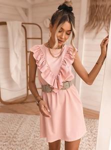 Sukienka SELFIEROOM mini rozkloszowana z bawełny