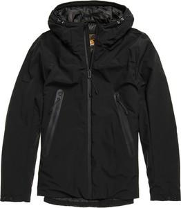 Czarna kurtka Superdry w stylu casual krótka