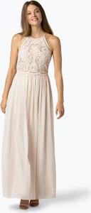 Sukienka Lipsy prosta z okrągłym dekoltem w stylu glamour