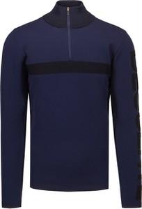 Sweter Descente z wełny w stylu casual