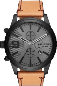 Zegarek DIESEL - Rasp Chrono 50Mm DZ4468 Brown/Black