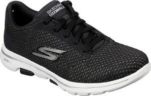 Buty sportowe Skechers sznurowane z płaską podeszwą