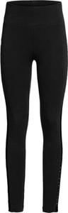 Czarne legginsy bonprix RAINBOW w stylu casual