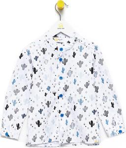 Koszula dziecięca Bananakids z bawełny w groszki