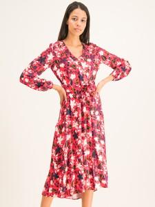 Sukienka Marc O'Polo maxi z dekoltem w kształcie litery v w stylu casual