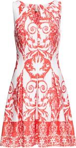 Sukienka bonprix BODYFLIRT boutique z okrągłym dekoltem mini bez rękawów
