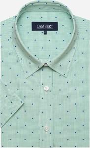 Koszula Lambert z krótkim rękawem z tkaniny