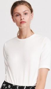 T-shirt Reserved w stylu casual z okrągłym dekoltem z krótkim rękawem