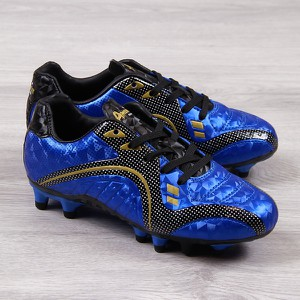 Niebieskie buty sportowe dziecięce American Club sznurowane