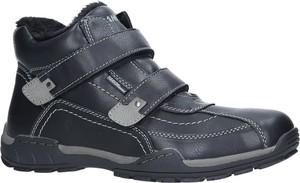 cea57736c9ef Granatowe buty zimowe Casu na rzepy w stylu casual