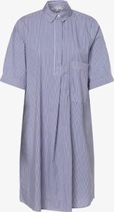 Niebieska sukienka Marie Lund mini koszulowa w stylu casual