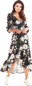 Sukienka Awama maxi asymetryczna