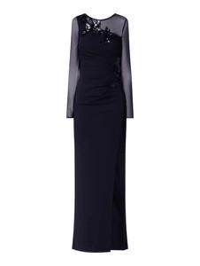 Granatowa sukienka Lipsy maxi