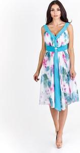 Sukienka Fokus z szyfonu w stylu casual