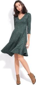 Sukienka Fille Du Couturier maxi z długim rękawem w stylu casual