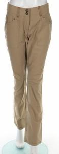 Brązowe spodnie Basic Line w stylu klasycznym
