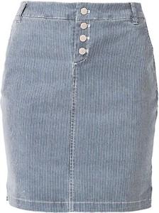 Niebieska spódnica S.Oliver midi