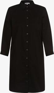 Czarna sukienka Marie Lund mini z długim rękawem