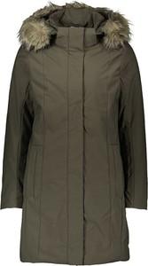 Zielony płaszcz CMP w stylu casual z tkaniny
