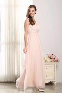 Różowa sukienka Butik Ecru z dekoltem w kształcie litery v