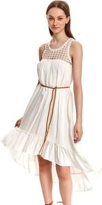 Sukienka Top Secret z okrągłym dekoltem mini