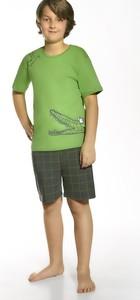 Zielona piżama Cornette dla chłopców