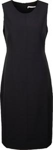 Czarna sukienka MEXX bez rękawów z okrągłym dekoltem mini