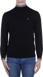 Czarny sweter Refrigiwear z wełny