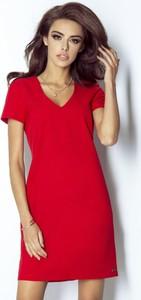 Czerwona sukienka Moda Dla Ciebie mini