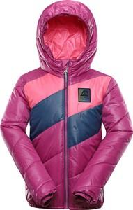 Różowa kurtka dziecięca Alpine Pro dla dziewczynek