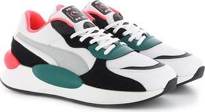 Sneakersy Puma na platformie sznurowane