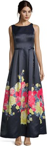 Sukienka Vera Mont maxi bez rękawów z okrągłym dekoltem