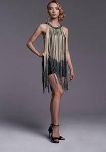 Czarna sukienka Ella Boutique bez rękawów mini